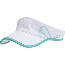 Performance Mesh Adjustable Women's Golf Visor
