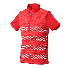 ゴルフ SS ジャカード ポロシャツ
