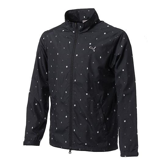プーマ ゴルフ フルジップ ウインドジャケット メンズ black