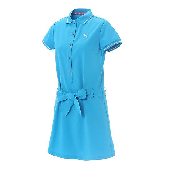 プーマ ゴルフ W SS ワンピース ウィメンズ blue jewel【レディースウエア  スカート  その他】PUMA プーマ【サイズ S/ブルー】ウィメンズ~~アパレル~~スカート・ドレス