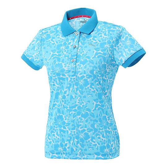 プーマ ゴルフ W SS ポロシャツ ウィメンズ blue jewel【レディースウエア  ポロシャツ】PUMA プーマ【サイズ S,M,L/ブルー】ウィメンズ  アパレル  ポロシャツ