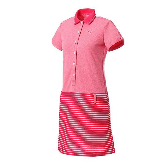 プーマ ゴルフ W SS ワンピース ウィメンズ rose red【レディースウエア  スカート  その他】PUMA プーマ【サイズ S,M,L/レッド】ウィメンズ~~アパレル~~スカート・ドレス