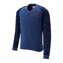 ゴルフ Vネックセーター