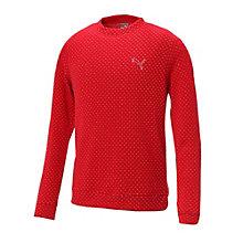 ゴルフ クルーネックセーター