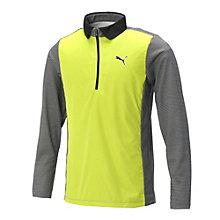 ゴルフ LSハーフジップポロシャツ