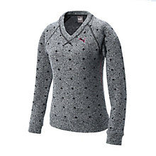 ゴルフW Vネックセーター