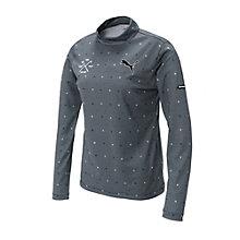 ゴルフW LSモックネックシャツ