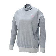 ゴルフW タートルネックセーター