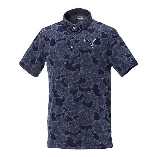 SS ジャカード BD ポロシャツ