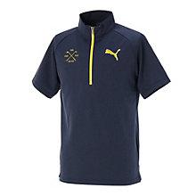 SS ハーフジップシャツ