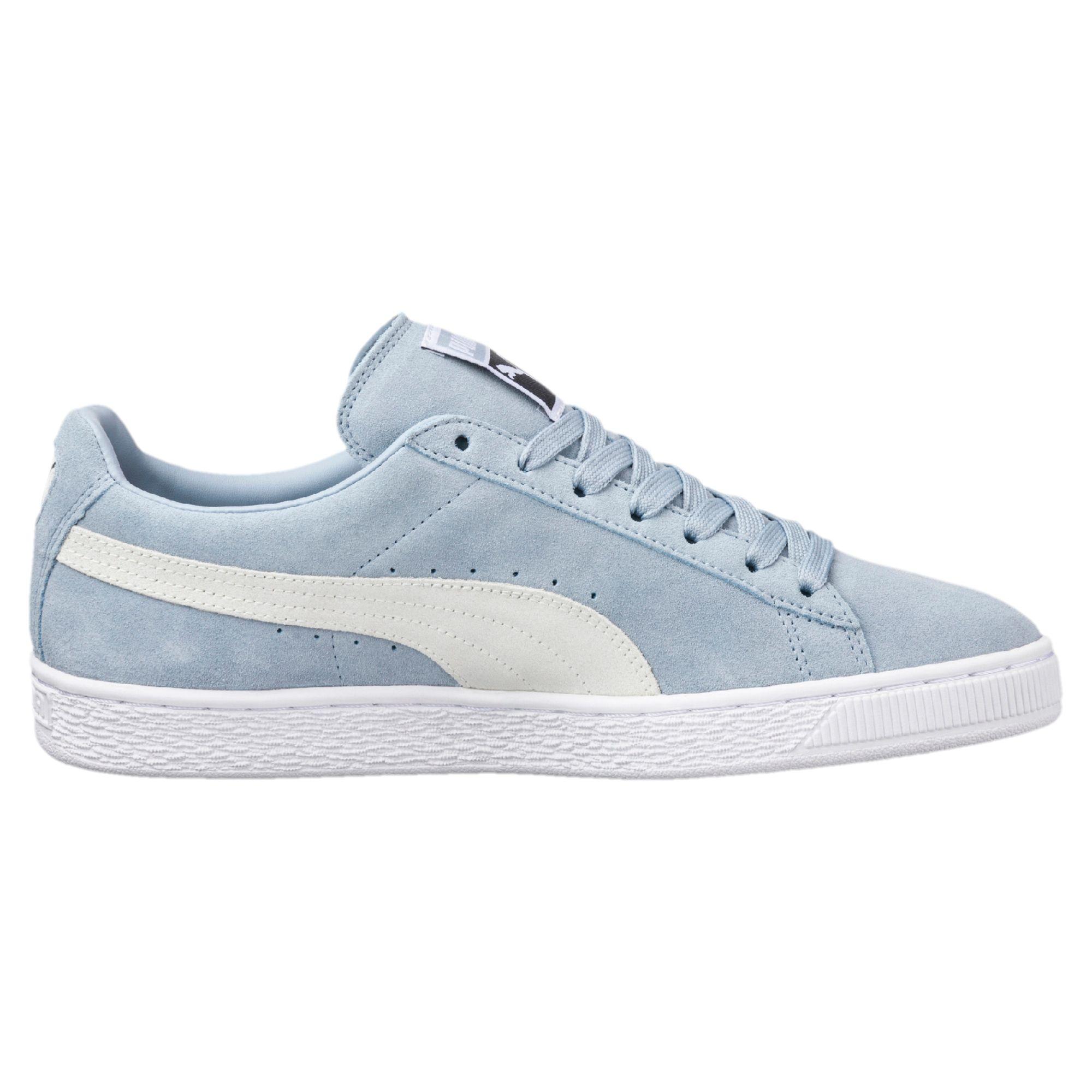 Puma Suede Classic +, Sneaker Unisex - Adulto, Blu (Blue Fog White 06), 44 EU