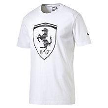 FERRARI LS ビッグシールドTシャツ
