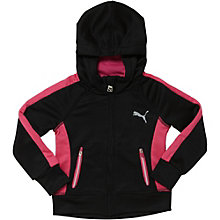 Poly French Terry Zip-Up Hoodie (2T-4T)