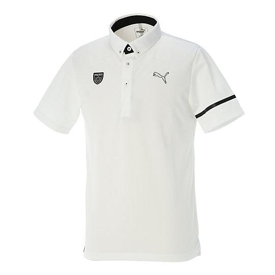 プーマ SS BD ポロシャツ メンズ bright white
